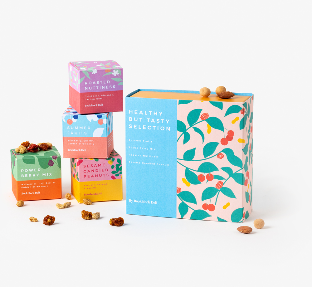 Healthy But Tasty Snack Selection by Bookblock DeliCorporate Gifts| Bookblock