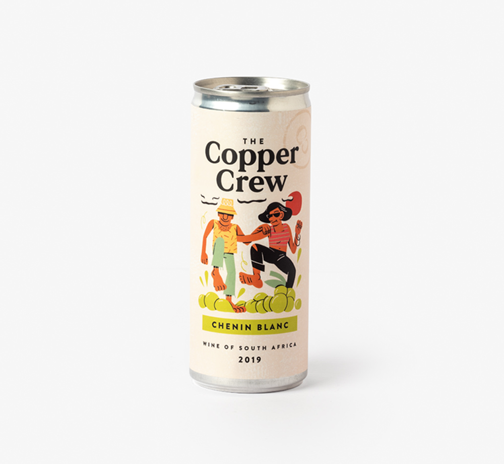 Chenin Blanc 2019 South Africa Canned Wine by The Copper CrewCorporate Gifts| Bookblock