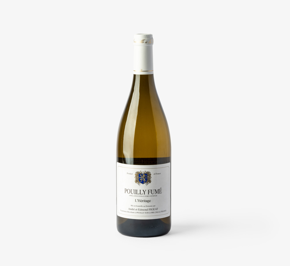 L'Héritage Pouilly-Fumé France 2020 75cl by MullineuxCorporate Gifts| Bookblock